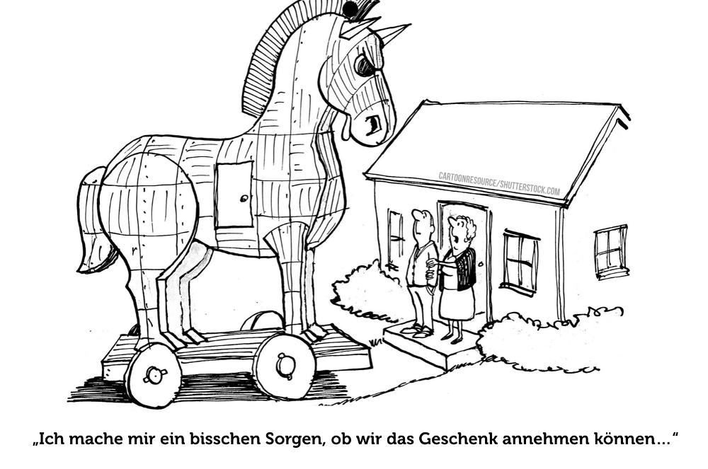 Reziprozität Gefälligkeitsfalle Geschenk Tronaner Trojanisches Pferd