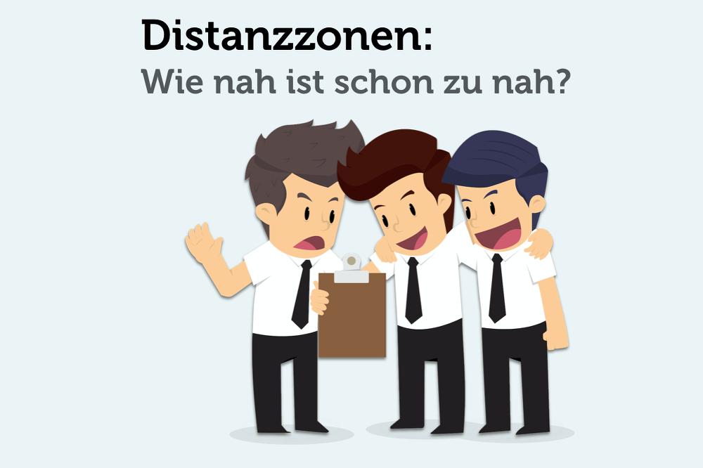 Distanzzonen: Bitte Abstand halten!
