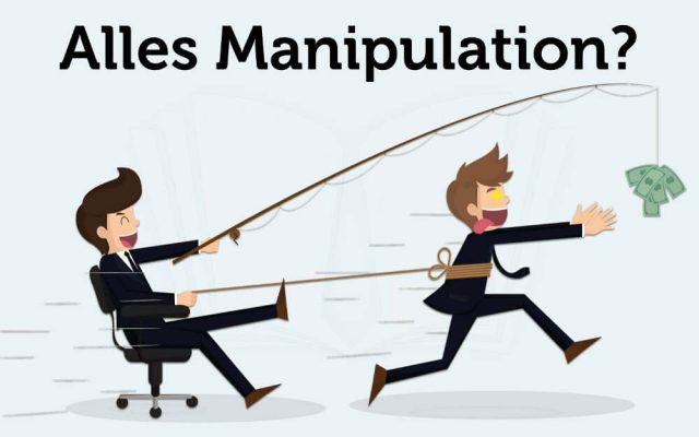 Manipulation Manipulationsversuche Moehre vor der Nase Nudging