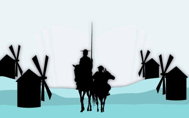 Muelleimer Modell Don Quijote Parabel