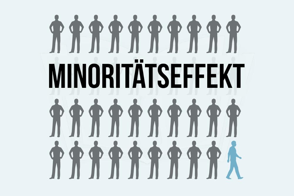 Minoritätseffekt: Die Macht der Minderheit