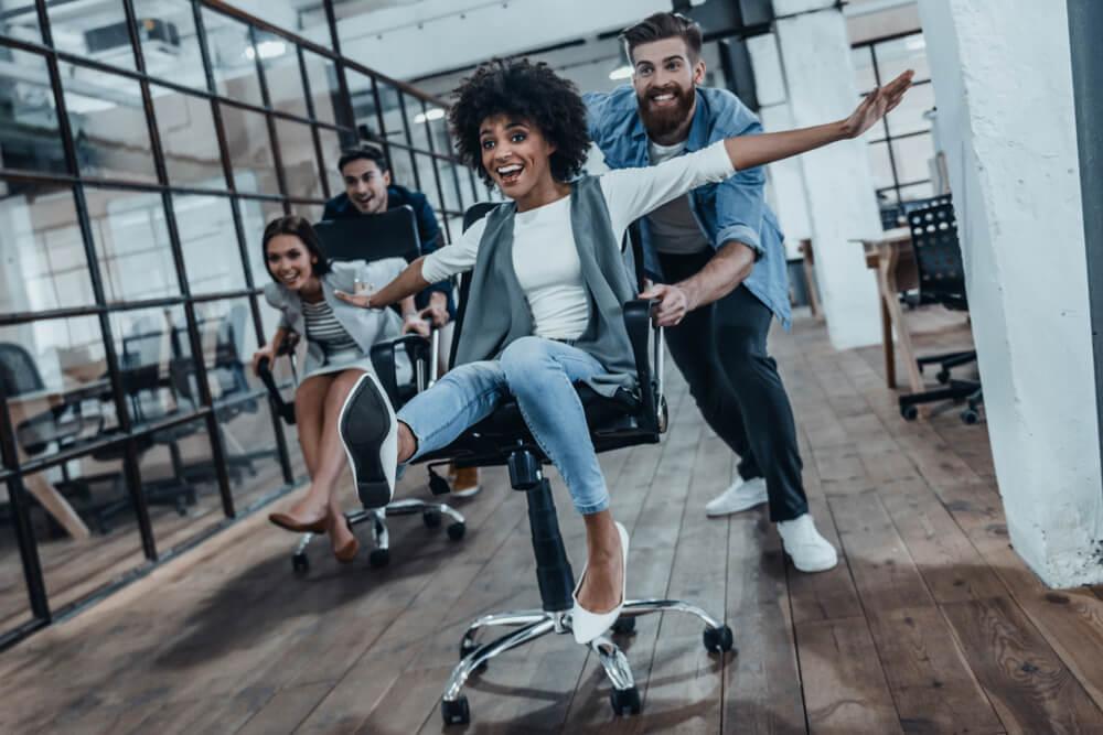 Bürolympics: Bürospiele für mehr Spaß