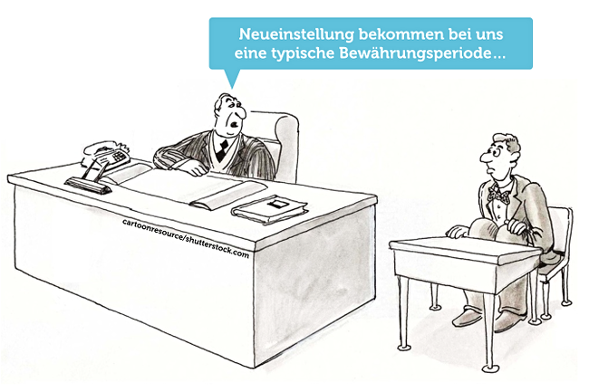 Bewaehrungsperiode-Cartoon