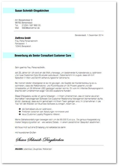 Bewerbungsmuster Bewerbungsschreiben BeraterIN Vorlage kostenlos Bewerbungsschreiben