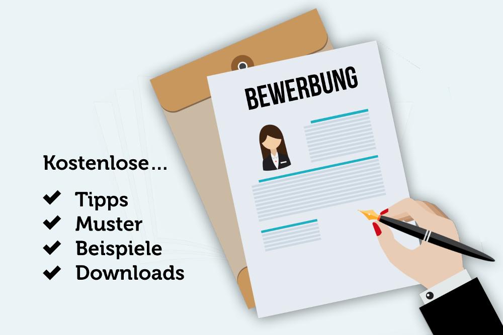 Bewerbungsschreiben Vorlagen Muster Beispiele Tipps kostenlos Bewerbungsanschreiben