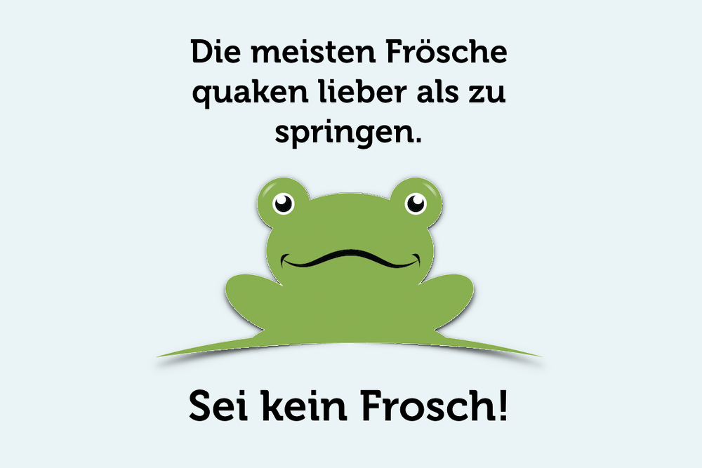 Das Boiling Frog Syndrom