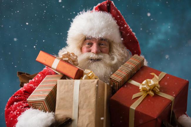 Ein Bewerbungsgespräch mit dem Weihnachtsmann