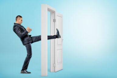 Fuß-in-der-Tür-Technik: Nein, ich meine: Ja!