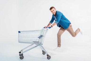 Hamsterkäufe: Gehen Sie nie hungrig einkaufen!