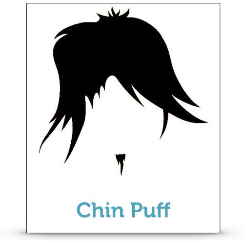 Bart Trimmen Pflege Chin Puff