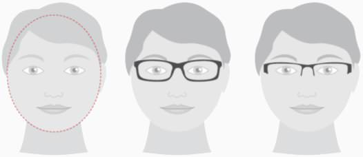 Sonnenbrillen für runde Gesichter