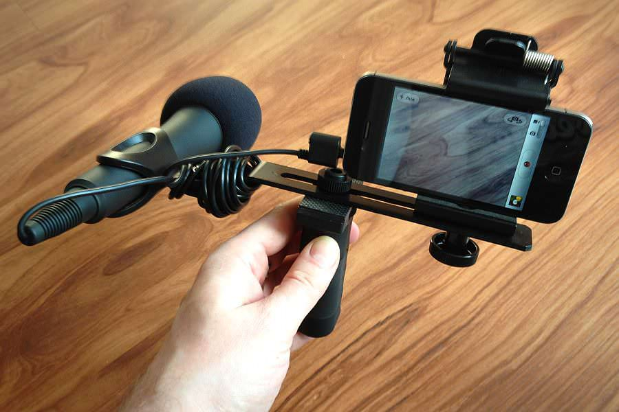 Proprompter Wing: Stativ für das iPhone