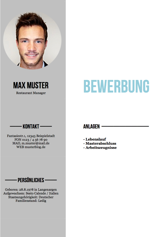 Deckblatt Bewerbung: Tipps Und Gratis-Vorlagen | Karrierebibel.De