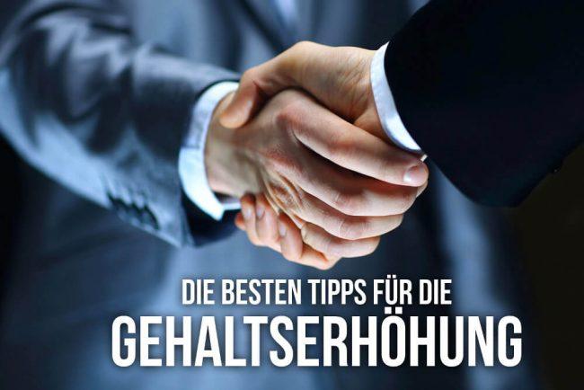 Gehaltserhöhung: Die 10 besten Tipps für die Verhandlung