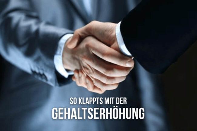 Gehaltserhöhung Abc Der Besten Verhandlungstricks Karrierebibelde