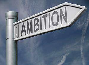 Ambition-Schild