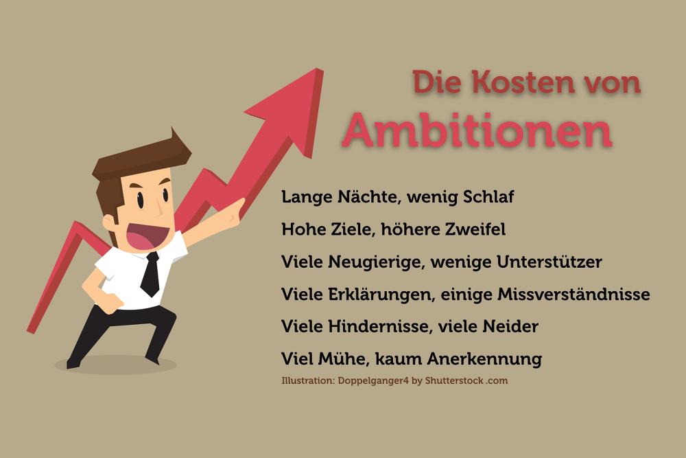 Ambitionen-Kosten-Grafik