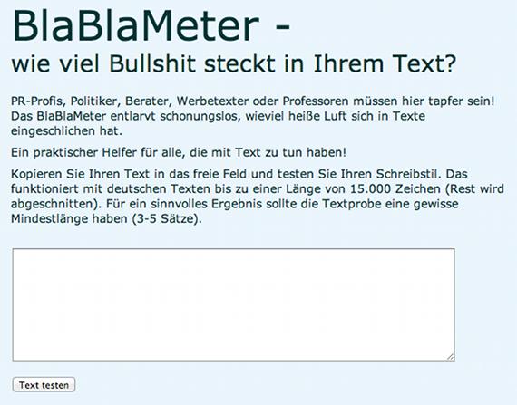 BlaBlaMeter