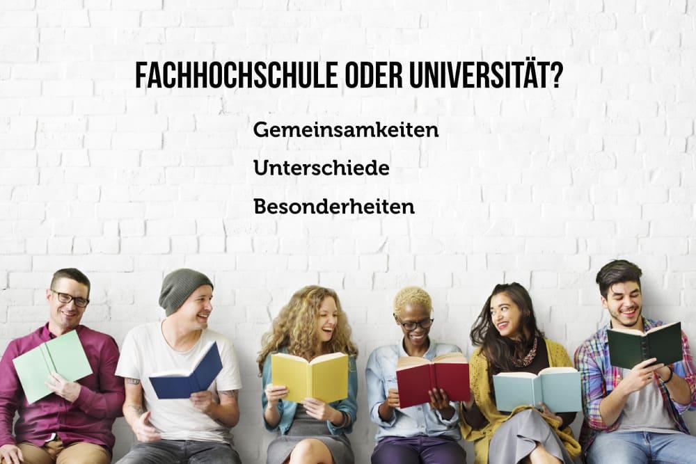 Fachhochschule oder Universitaet FH schlechter als Uni leichter