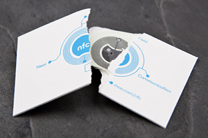 NFC-Visitenkarten
