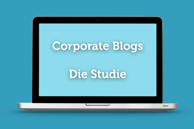 Studie Corporate Blogs 2014