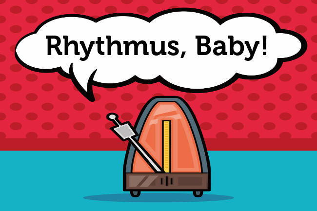 Rhythmus-Metronom-Rythm