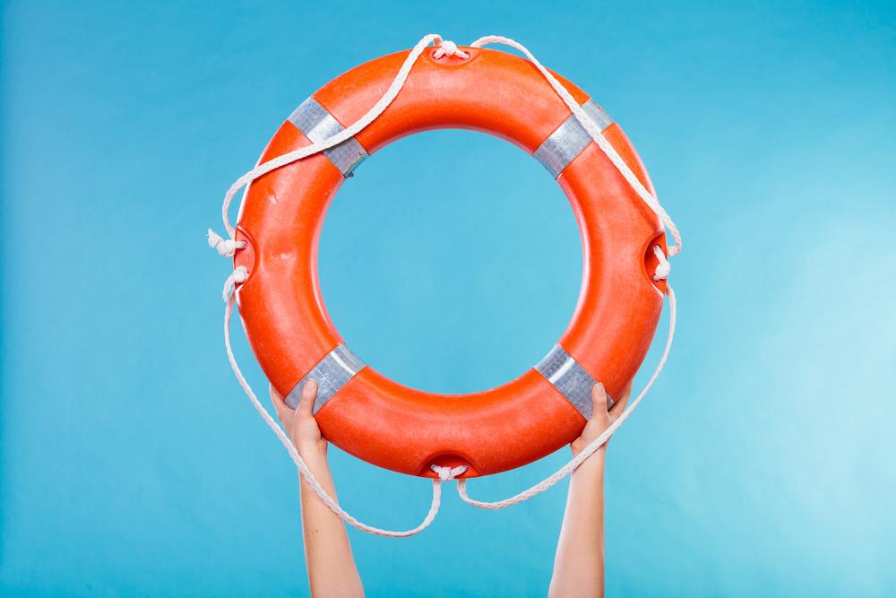 Versicherung-Rettungsring-Schutz