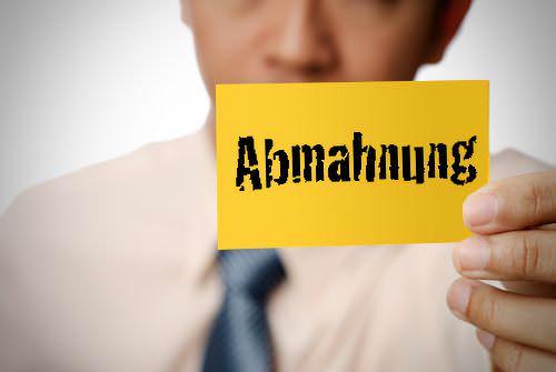 Abmahnung Arbeitsrecht Frist Gründe Definition Inhalt Muster