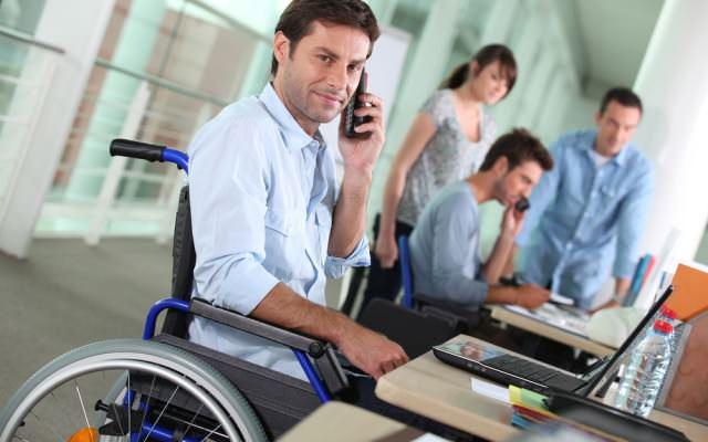Behindert-Arbeiten-Barrierefrei
