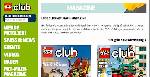 LEGO-Magazin Edutainment