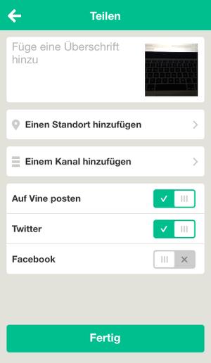 Vine-Ratgeber-posten