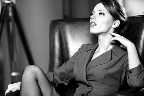Karrierefrau-Sessel