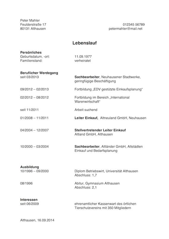 Arbeitslosigkeit im Lebenslauf erklären | karrierebibel.de