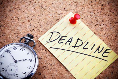 Deadlines: Abgabetermine sind dein Freund