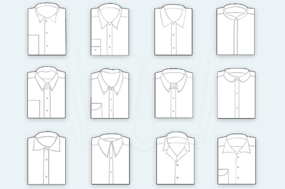 Hemden Knigge Kragenform Kragenweite Hemdkragen