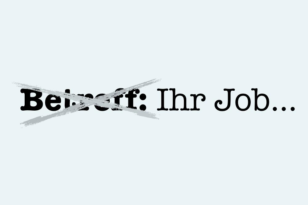 Bewerbung Betreff: Formulierungstipps | Karrierebibel.De