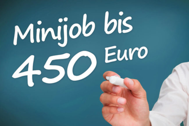 bewerbung minijob tipps und muster - Bewerbung 450 Euro Job Muster