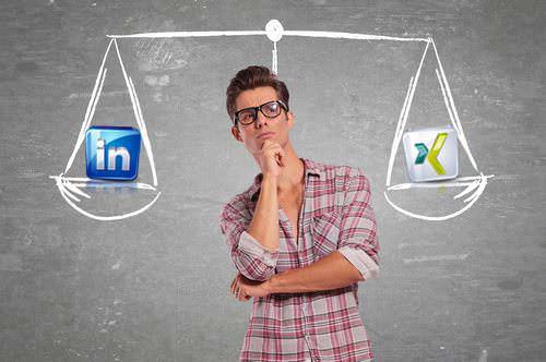 Linkedin und Xing