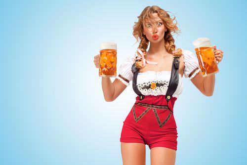 Alkohol-Oktoberfest-Karneval-Bier