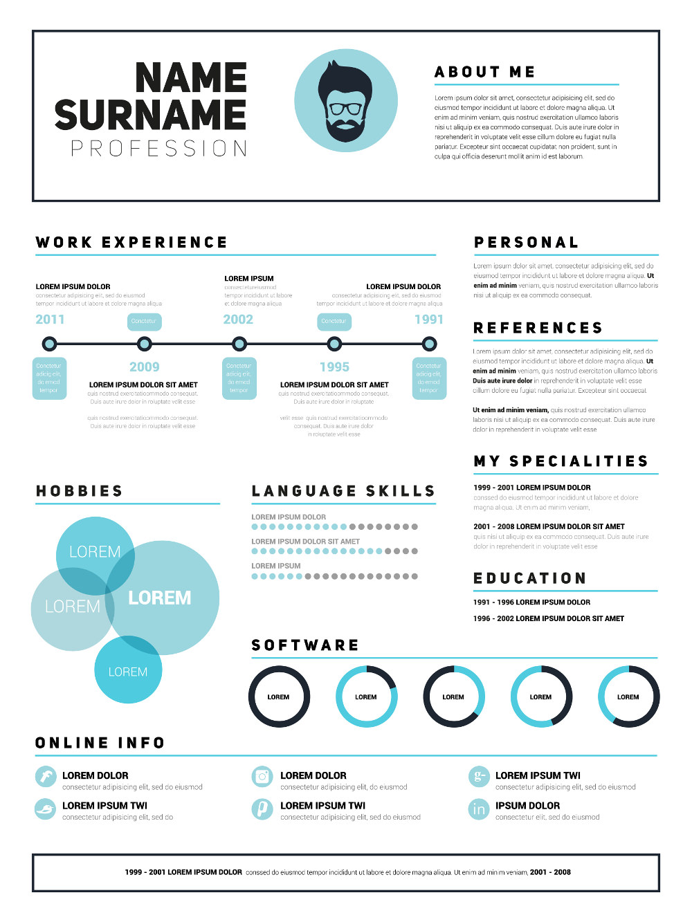 Resume Indesign Tutorial Awesome Resume Cv Templates