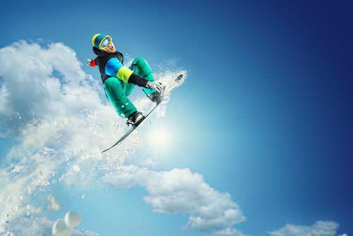 Hobbys-Lebenslauf-Extremsport