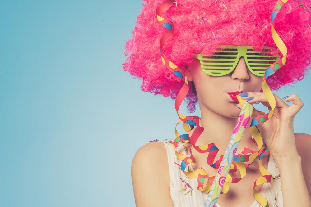 Karneval-Knigge Typ Feierbiest