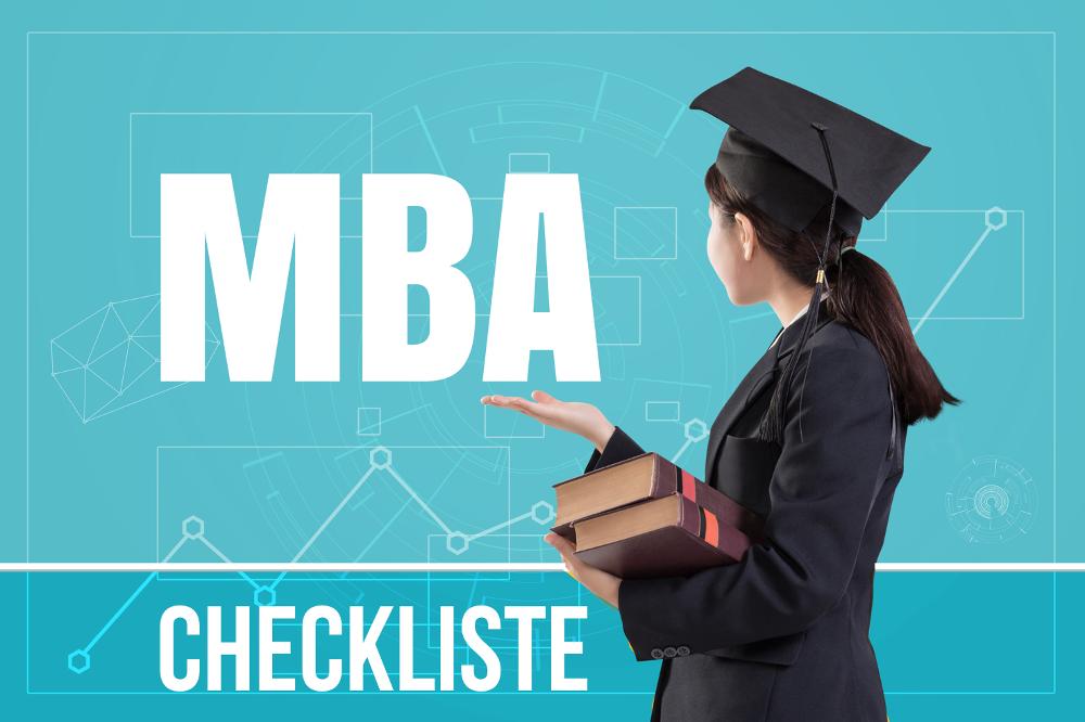 MBA Checkliste: 50 Kriterien für die Studienwahl