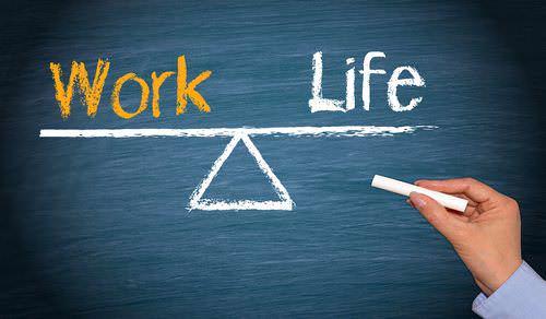 Work-Life-Balance-Ausgleich-Waage