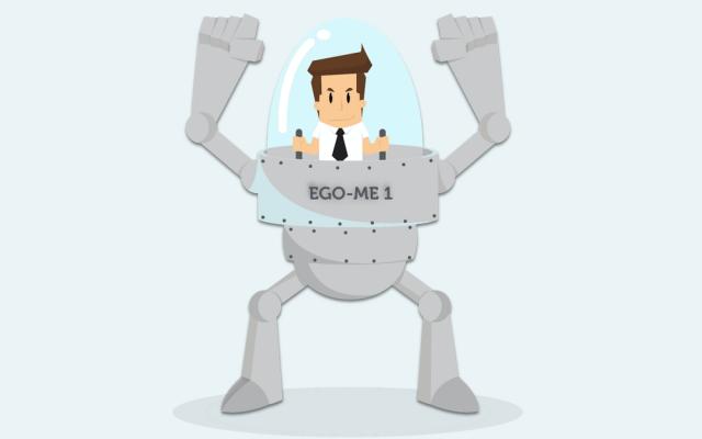 Arroganz-Ego-Schutzpanzer-Profilneurose
