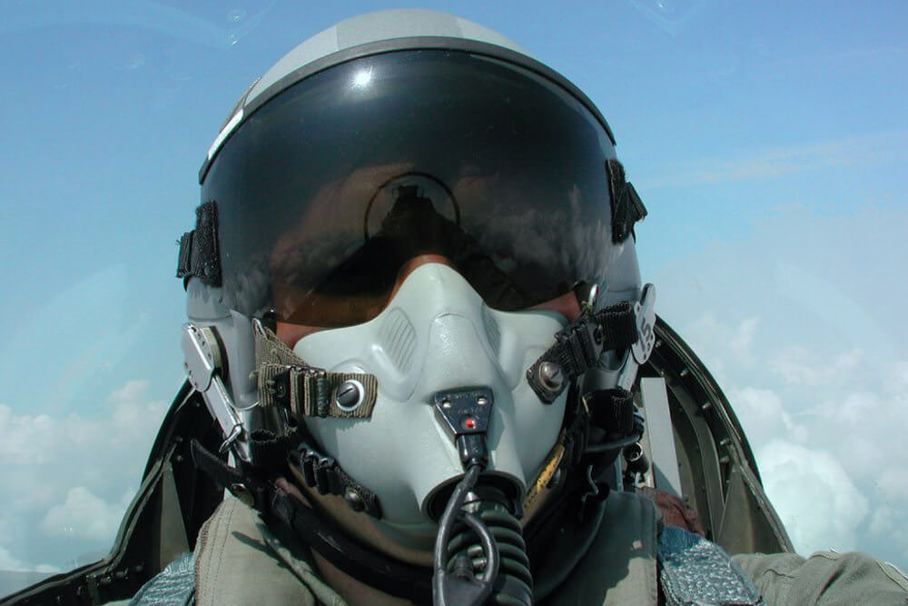 Berufspendler Kampfpilot Stress Studie