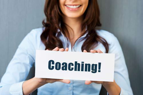 Coaching-Frau