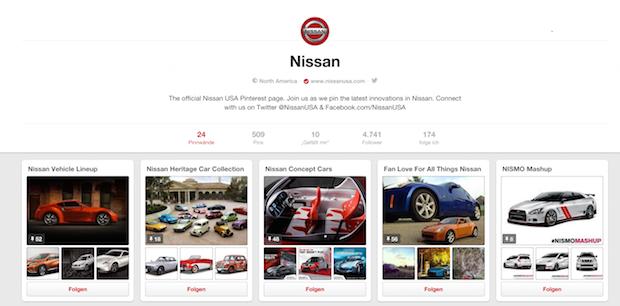 Nissan_auf_Pinterest