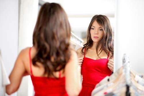 Selbstzweifel-Spiegel-Selbstvertrauen