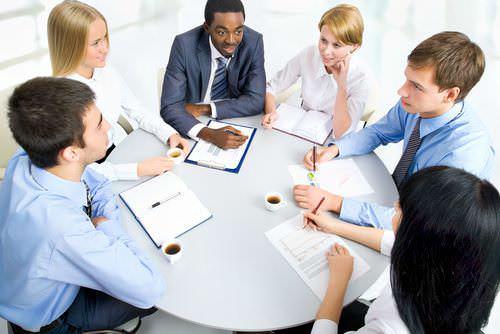 Sitzordnung-Platzwahl-Konferenz